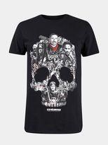 Burton Burton Black Walking Dead Skull Image T-shirt