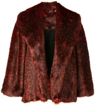 Natori short topper coat