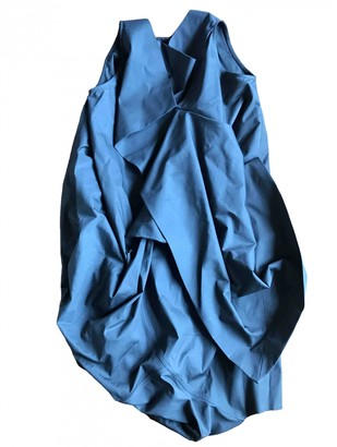 Rick Owens Grey Cotton - elasthane Dresses