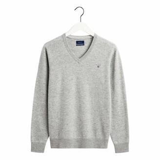 Gant Men's Superfine Lambswool V-Neck Sweater
