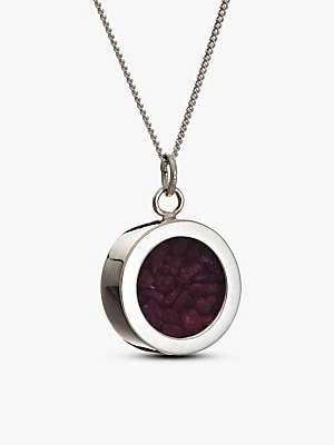Rachel Jackson London Ruby July Birthstone Necklace