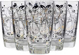 One Kings Lane Vintage 1950s Cocktail Glass Tumblers - Set of 7