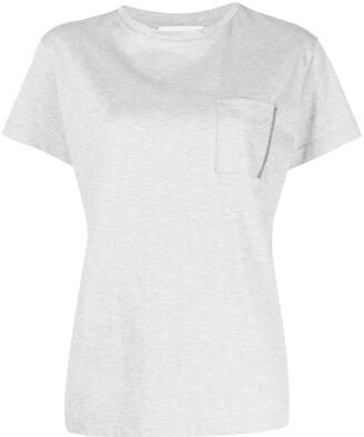 Fabiana Filippi melange-effect T-shirt