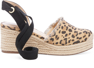 Sole Society Women's Caristal Tie Up Espadrille Black Size 5 Linen From