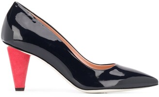 Pollini Two-Tone Pumps
