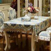 YANLIANG X&L Jacquard European - style lace polyester table household cloth table tea tablecloth table cloth