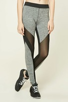 Forever 21 FOREVER 21+ Active Marled Knit Leggings