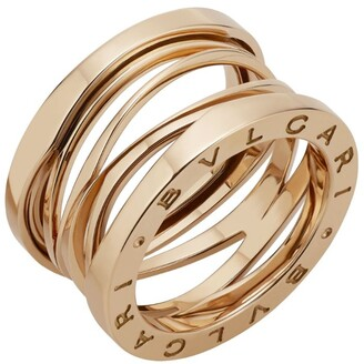 Bvlgari Rose Gold B.Zero1 Legend Ring