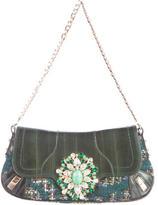 Dolce & Gabbana Tweed & Eel Evening Bag