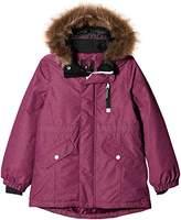 Name It Girl's Nitmedenim W. Fur Purple NMT G Fo Jacket