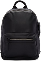 Lanvin Black Leather Backpack