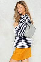 Nasty Gal nastygal WANT Put It Behind You Structured Backpack