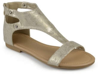 Journee Collection Bevin Flat Sandal