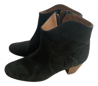 Etoile Isabel Marant Grey Suede Boots