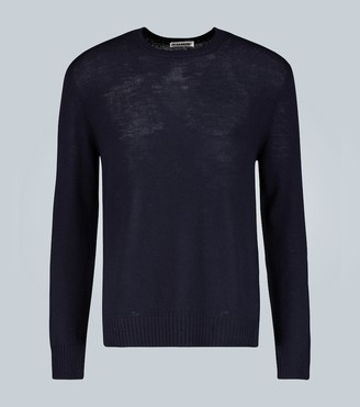 Jil Sander Crew neck wool sweater