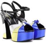 Saint Laurent Candy 80 platform sandals