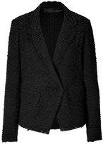 Donna Karan Linen-Cotton Blazer