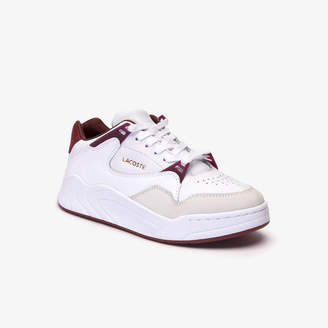 Lacoste Women's Court Slam Two-Tone Leather Sneakers