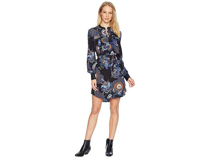 Juicy Couture Romanov Silk Shirtdress Women's Dress