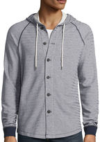 UNIONBAY Union Bay Long-Sleeve Monroe Button-Front French Terry Hoodie