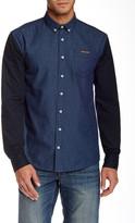 Lindbergh Block Long Sleeve Slim Fit Shirt
