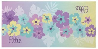 Tropical Dreams Beach Towel - Available in Pink or Purple