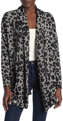 Caslon Soft Leopard Print Cardigan