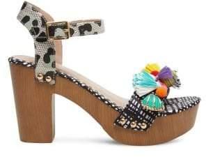 Betsey Johnson Jilly Platform Sandals