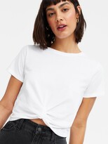 Thumbnail for your product : New Look Twist Front Tee