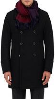 Barneys New York Men's Reversible Cashmere Fleece Scarf-NAVY