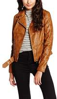 New Look Women's Lovebird Biker Jacket