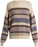 Etoile Isabel Marant Berwick round-neck wool-blend sweater