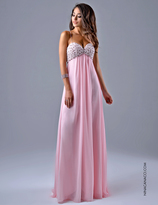 Nina Canacci - 1095 Dress in Pink