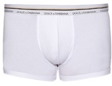 Dolce & Gabbana Stretch-cotton Boxer Trunks
