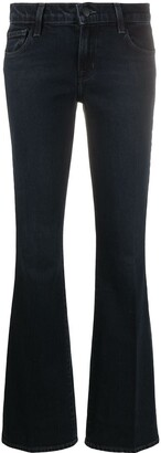 J Brand Nocturne kick-flare jeans