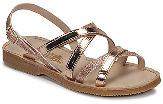 Citrouille et Compagnie GENTOU girls's Sandals in Brown