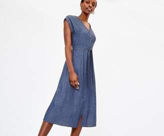 Oasis Denim Shirt Dress