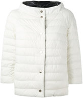 Herno reversible puffer jacket - women - Feather Down/Polyamide/Polyurethane - 44