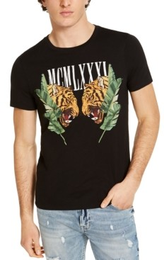 GUESS Men's Tigers Graphic T-Shirt