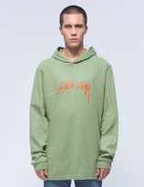 Stussy Smooth Stock L/S Hood T-Shirt