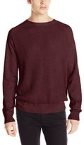 Calvin Klein Jeans Men's Cloud Wash Waffle Crew Sweater