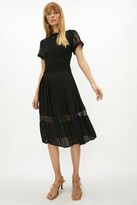 Thumbnail for your product : Coast Lace Bodice Pleat Skirt Dress