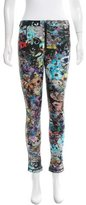 Cynthia Rowley Neoprene Abstract Print Pants