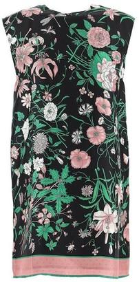 Gucci Flora Printed Tunic Top