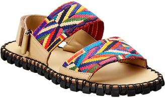 Valentino Leather Sandal