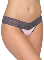 Hanky Panky Logo to Go Colorplay Low Rise Thong