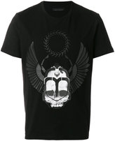 Frankie Morello printed fitted T-shirt