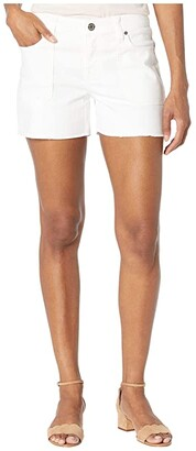 Tommy Bahama Ella Twill Utility Shorts (White) Women's Shorts