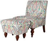 HomePop Paisley Accent Chair & Ottoman 2-piece Set