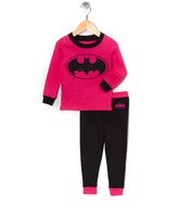 Intimo Hot Pink Batgirl Pajama Set - Infant & Toddler